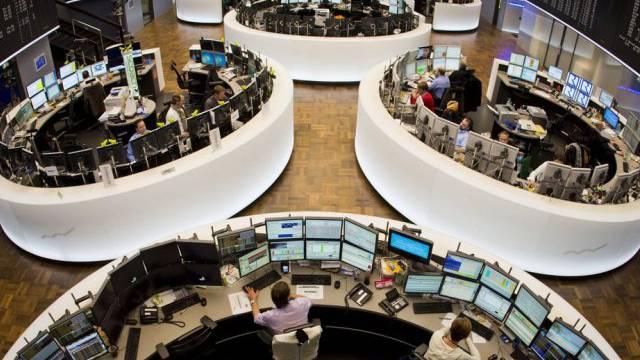 Deutschlands Wirtschaft zieht an: Börse in Frankfurt (Archiv)
