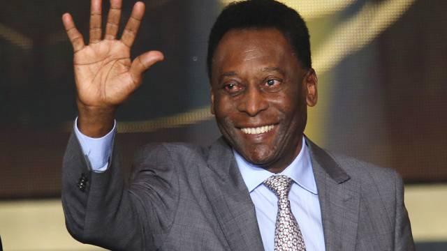 Lebt noch: Der frühere brasilianische Fussballspieler Pelé (Archiv)
