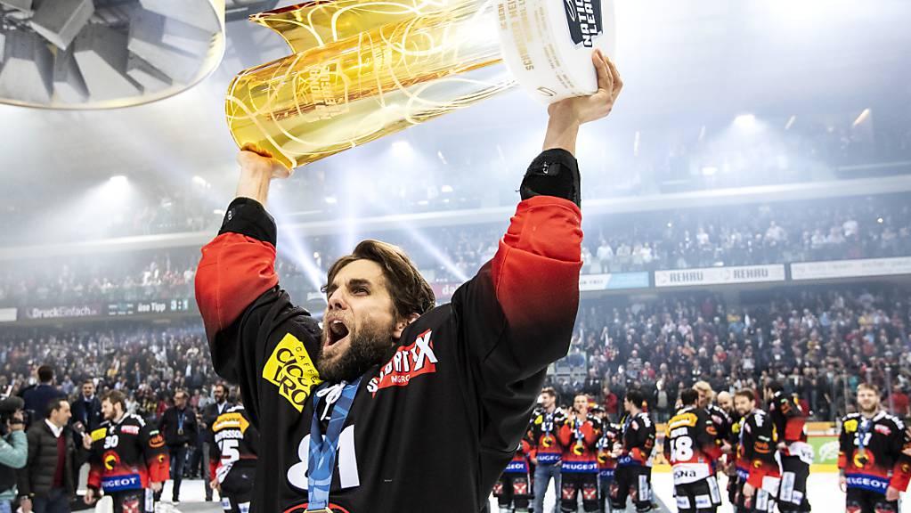 Thomas Ruefenacht wurde mit dem SCB bisher dreimal Meister