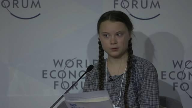 Greta Thunberg: «Ich will, dass ihr in Panik geratet»