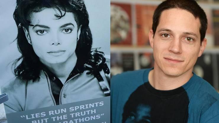 Ueli Meier, Mitbegründer des Schweizer Michael-Jackson-Fanclubs, zweifelt an der Richtigkeit der Dokumentation.