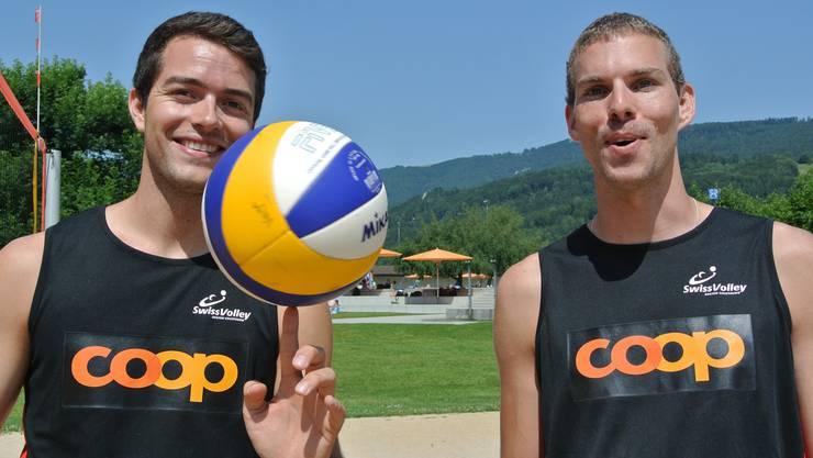 Daniel Vega (links) und Manuel Eberle.