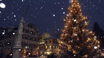Weisse Weihnachten wird heuer nur in den Bergen Realität (Archiv)