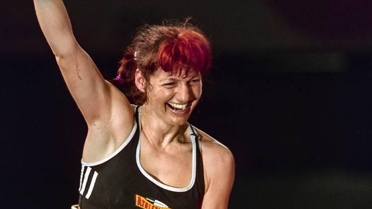 Christina Nigg wurde 1998 als erste Schweizerin überhaupt Profibox-Weltmeisterin