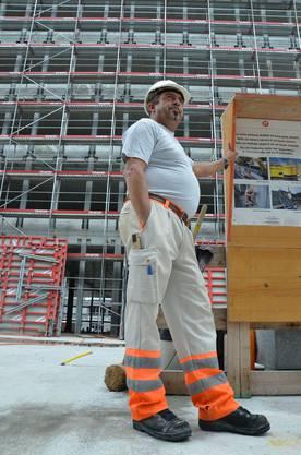 Der Herr über die Baustelle - Polier Giuseppe Petrolo