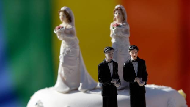 Roberto Zanetti und Christian Imark sind sich bei der Ehe für Gleichgeschlechtliche nicht einig. (Symbolbild)