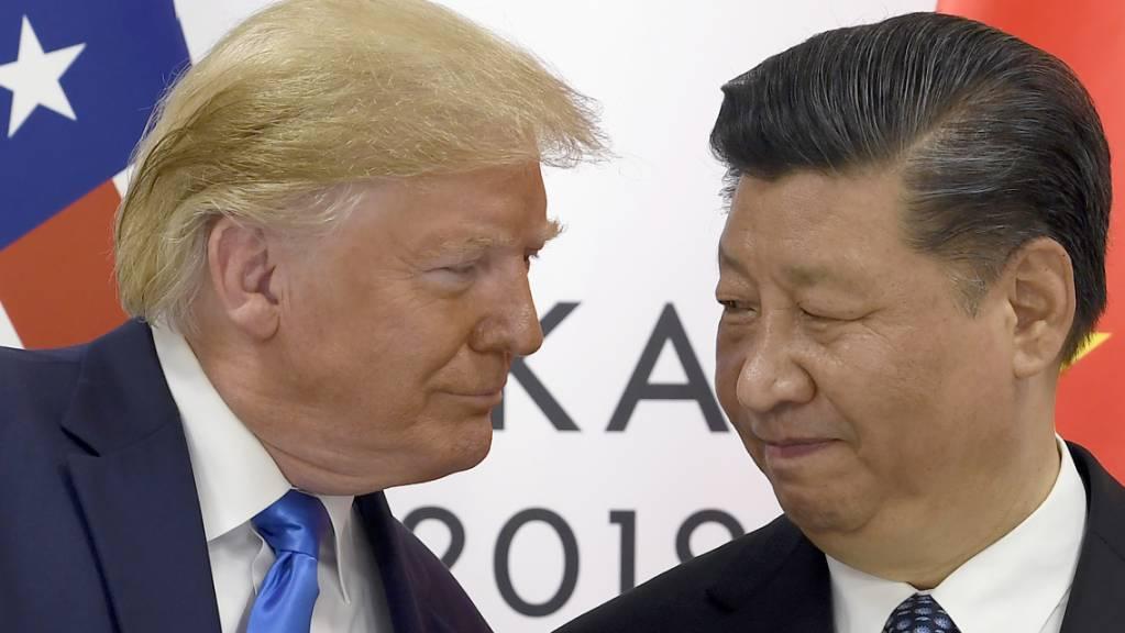 Zünglein an der Waage: Nun liegt es an US-Präsident Donald Trump, Verordnungen der USA gegen den Einfluss Chinas in Hongkong in Kraft zu setzen. (Archivbild)
