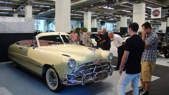 Auto-Leckerbissen an der achtten Auto Basel