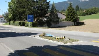 In Selzach kommt es immer wieder vor, dass die Inselleuchtpfosten und Signalisationen durch unachtsame Autofahrer umgefahren werden.