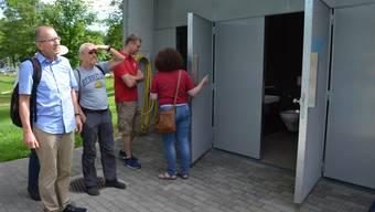 Einweihung der Badi in Brugg nach dem Ende der Sanierungsarbeiten