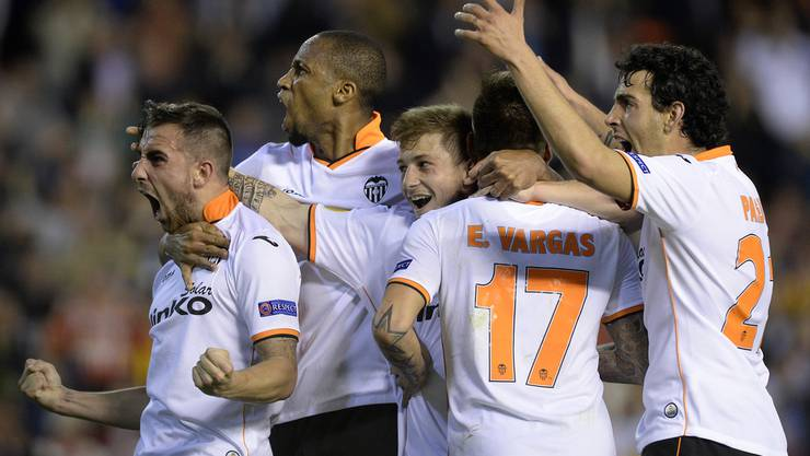 Valencia führt 3:0.