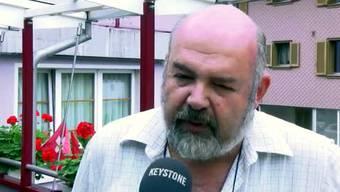 Bei ihm übernachteten die Unfallopfer aus Israel, welche mit ihrem Kleinbus in ein Zug kollidierten. Werner Odermatt, Besitzer des Hotels Alpina in Wolfenschiessen, ist immer noch geschockt über das Unglück.