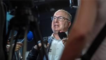 Zurück auf der eidgenössischen Politbühne: Pierre-Yves Maillard nach der Wahl zum Gewerkschaftsboss.Marcel Bieri/Key