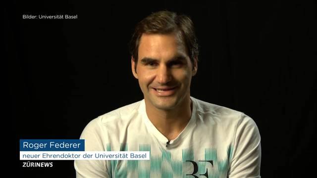 Roger Federer erhält Doktortitel