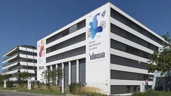 Der Hauptsitz der Idorsia, direkt neben dem der Actelion am Hegenheimermattweg im Allschwiler Bachgraben-Gebiet.