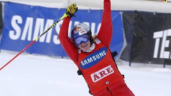 Fanny Smith triumphiert in Schweden