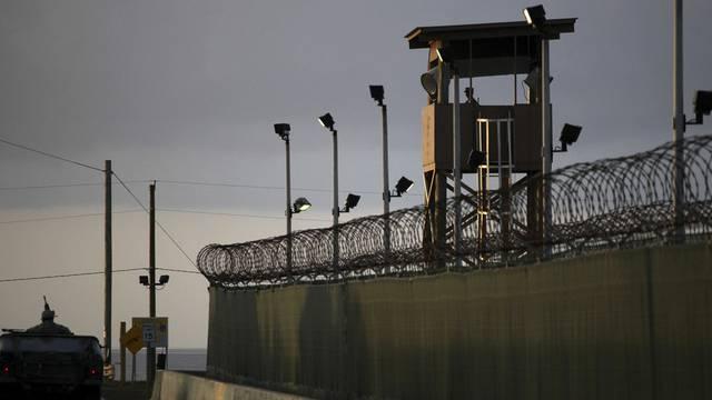 Blick auf die Aussenmauern des berüchtigten Gefangenenlagers (Archiv)