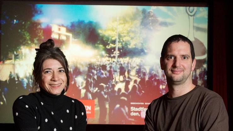 Sandra Perego und Patrick Neuenschwander zeigen den Film.Alex Spichale