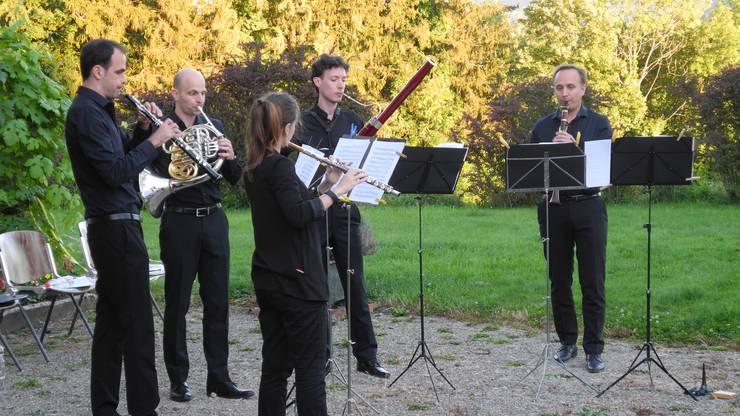 Das Bläserquintett pentaTon bietet ein abwechslungsreiche musikalische Auswahl.