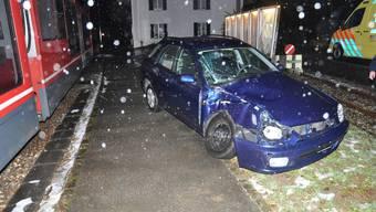 Die Autolenkerin verletzte sich mittelschwer.
