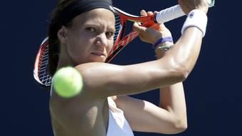 Viktorija Golubic hatte Ball und Gegnerin im Griff