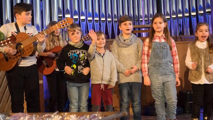 Derzeit wegen Corona nicht möglich: Ein Auftritt des «Kids Chor» der Musikschule Schlieren im Jahr 2015.