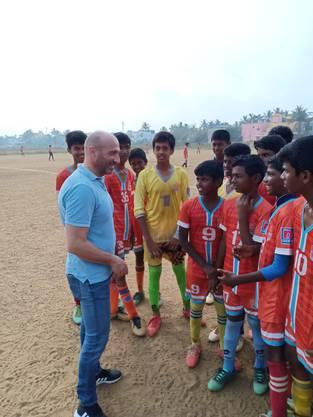 Bis letzte Woche weilte Massimo Ceccaroni in Indien.