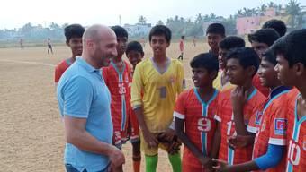 Massimo Ceccaroni in Indien