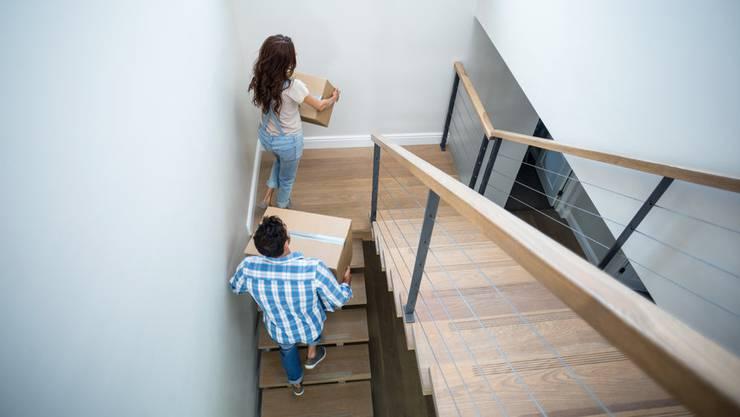 Zu wenig Platz in der alten Wohnung ist der häufigste Umzugsgrund.