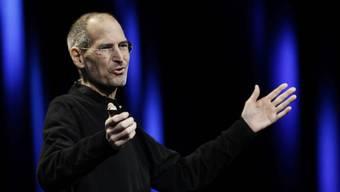 Steve Jobs spricht zum Auftakt der Entwicklerkonferenz WWDC