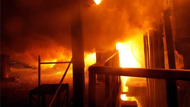 Das Stahlwerk Gerlafingen ist einer der letzten Vertreter der alten Solothurner Industrie.