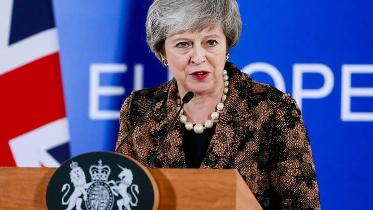 Die britische Premierministerin Theresa May will mit einer dramatischen Rede am heutigen Montag ein weiteres Referendum über den den Brexit verhindern.