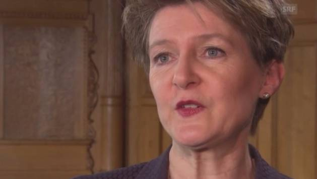 Simonetta Sommaruga über den Fall Therwil: «Das hat auch unter dem Titel Religionsfreiheit nichts zu suchen.»