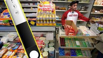 Mit diesem Wunderstift will Amazon den Lebensmittelhandel aufmischen.