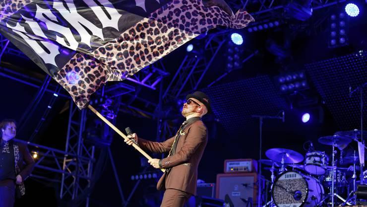 Jan Delay begeisterte mit seinem Auftritt auf der Lindenbühne.