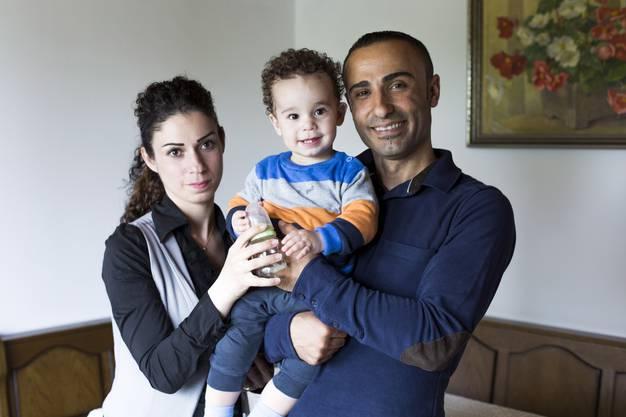 Mindestens sechs Monate lang werden die Kaufmanns die syrische Familie beherbergen.