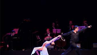 Das aus Buenos Aires angereiste Paar Sabrina und Ruben Veliz beeindruckte vor allem durch sein hohes technisches Können.