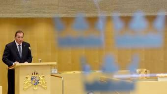 Schwedens Premierminister Stefan Lofven verkündet bei seiner Inauguration die offizielle Anerkennung Palästinas. Mit dem Schritt will er eine Zweistaaten-Lösung vorantreiben.