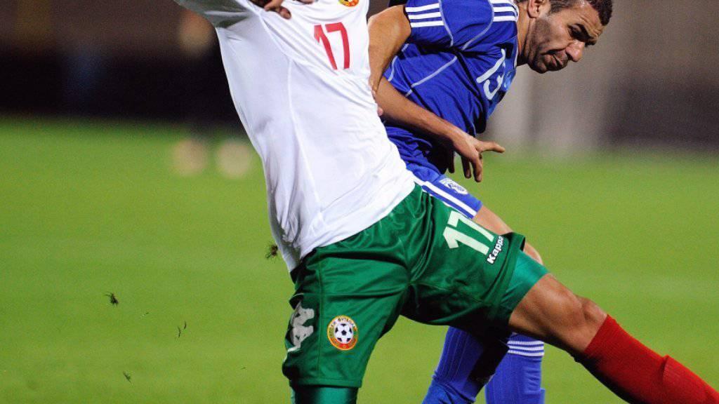 GCs neuer Mittelfeldspieler Georgi Milanov (23) absolvierte für Bulgariens Nationalteam bislang 28 Spiele und erzielte dabei 3 Tore