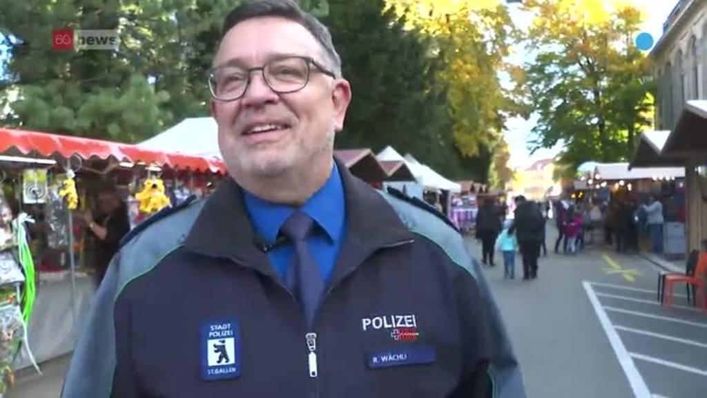 Abtretender St.Galler Jahrmarkt-Polizist: «Ich komme wieder»