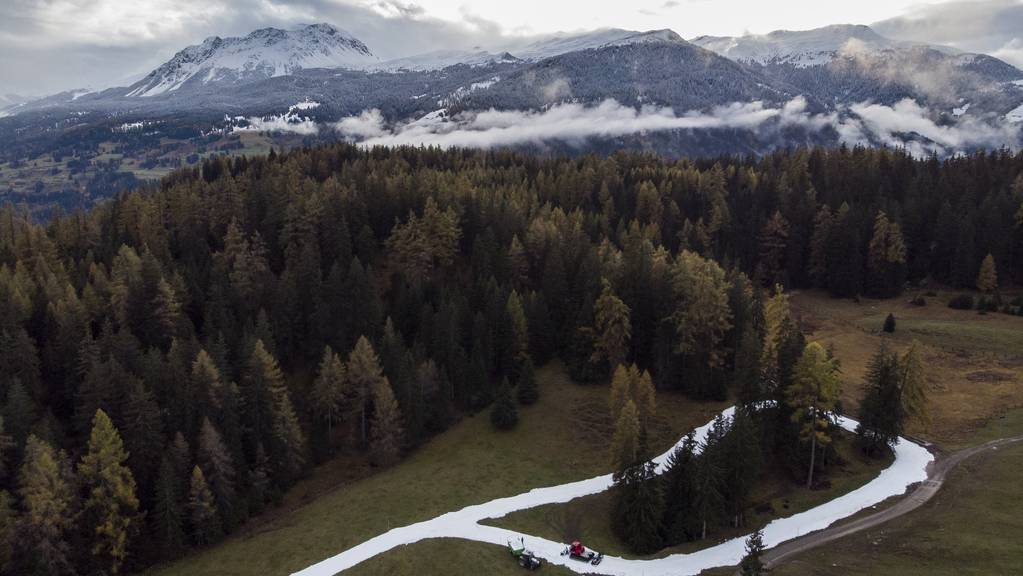 Die Biathlon Arena Lenzerheide solle eine der grössten Sommertrainingsanlagen Europas werden.