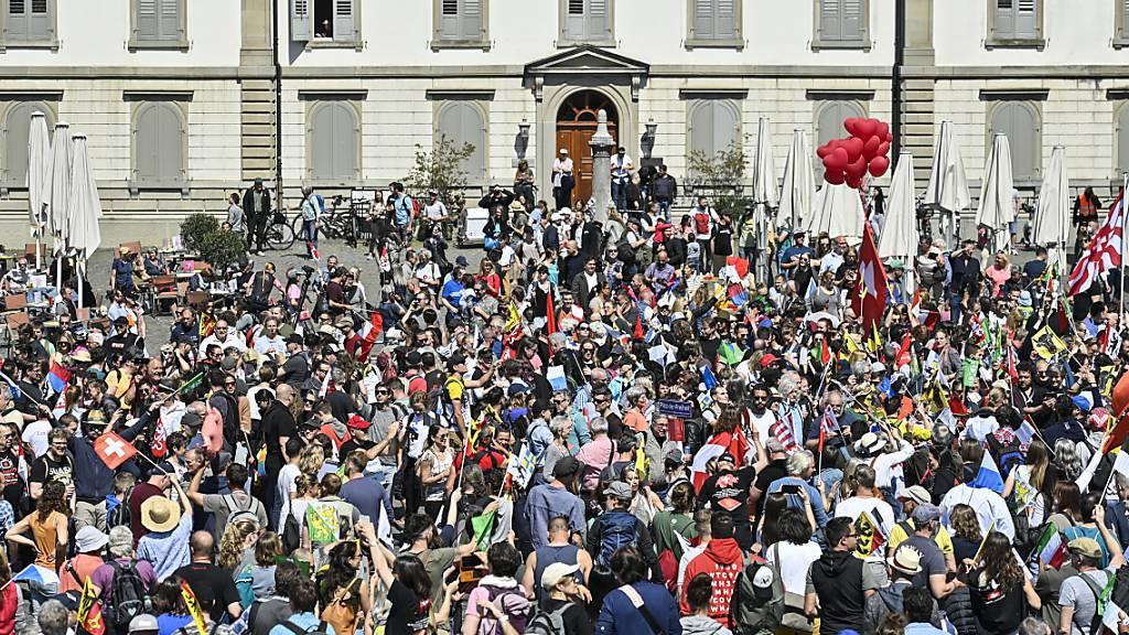 Nach Kundgebung: Kanton St.Gallen prüft Abwälzung der Polizeikosten