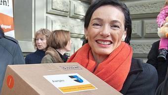 Marianne Binder tritt ihr Amt als CVP-Sprecherin ab