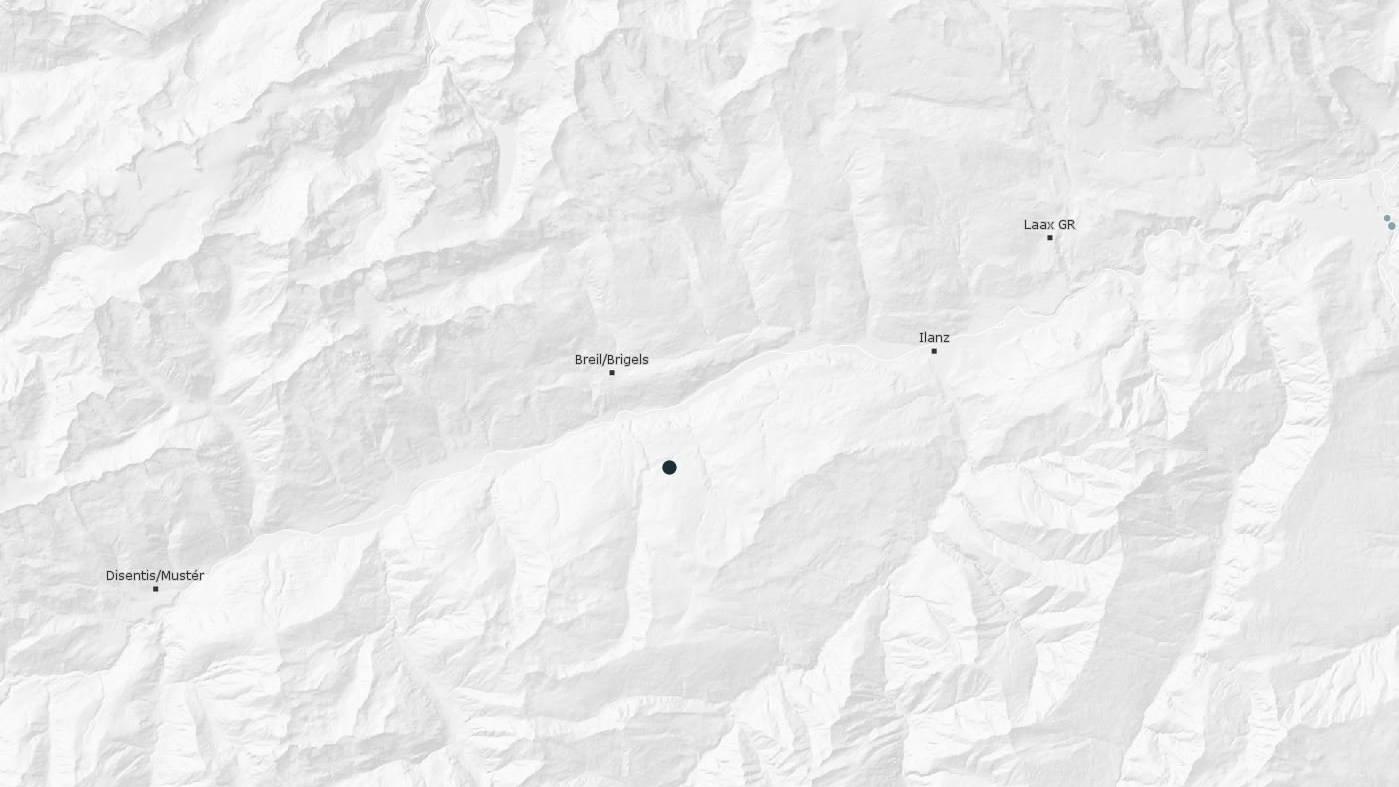 In der Nähe von Brigels gab es ein leichtes Erdbeben.