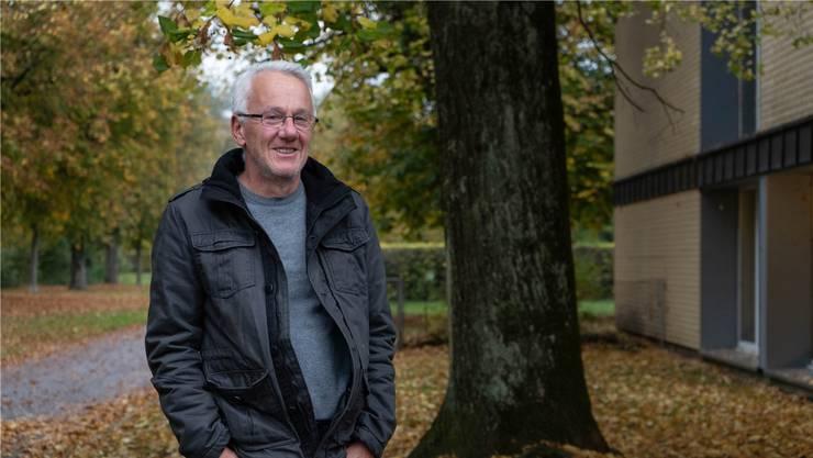 Walter Vogt hat das Buch «Einfach reisen lernen» geschrieben. Er lebt im Scheibenschachen in Aarau.