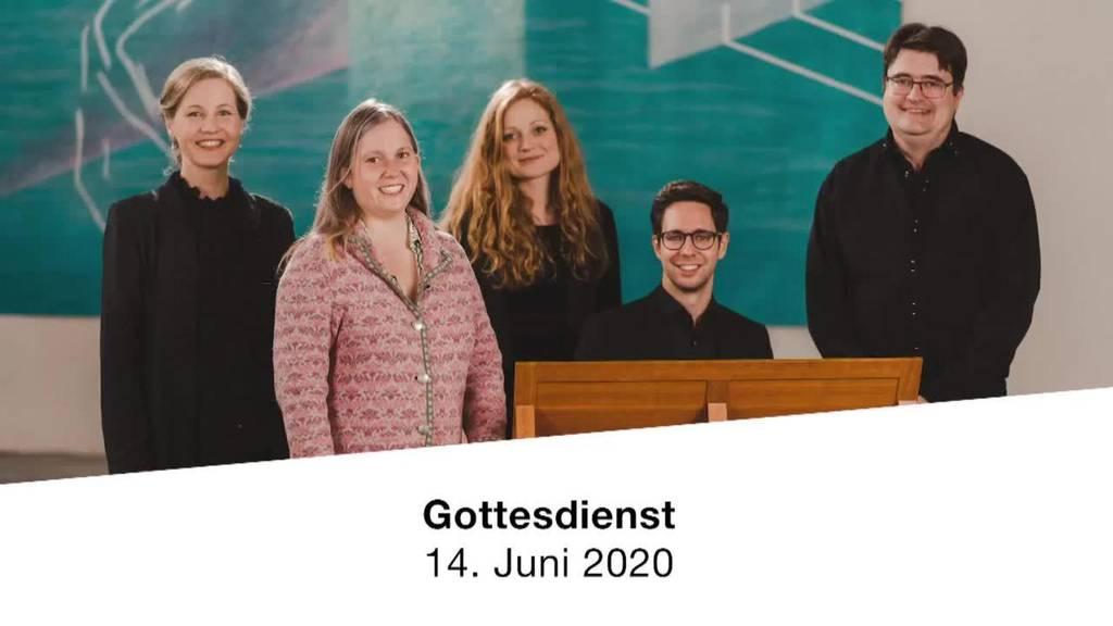 Gottesdienst vom 14. Juni 2020