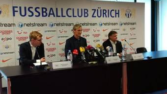 Der neue FCZ-Trainer Sami Hyypiä stellt sich vor.