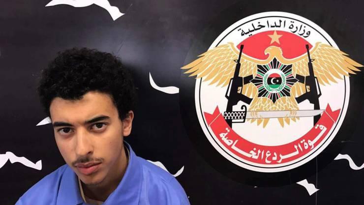 Mitwisser und wohl auch mitbeteiligt an der Planung des Anschlags auf das Popkonzert in Manchester: Hashim Ramadan Abedi, der Bruder des Selbstmordattentäters, in einem Hochsicherheitsgefängnis der libyschen Antiterrorkräfte in Tripolis.