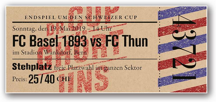 Das Fantasieticket des FC Basel zum Cupfinal.