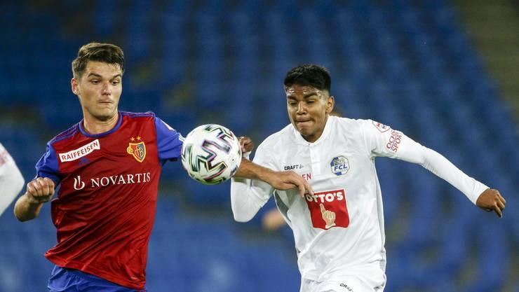 Der FCB spielt gegen Luzern 0:0.